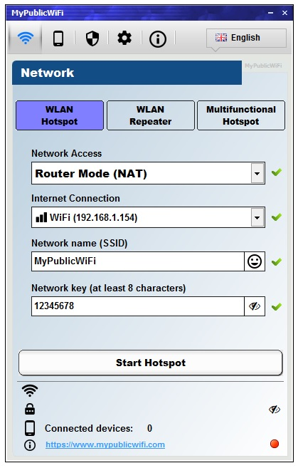 my wifi router for windows 10